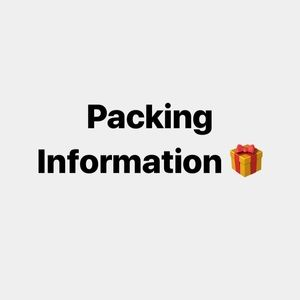 Other - Packing and Packaging Info.